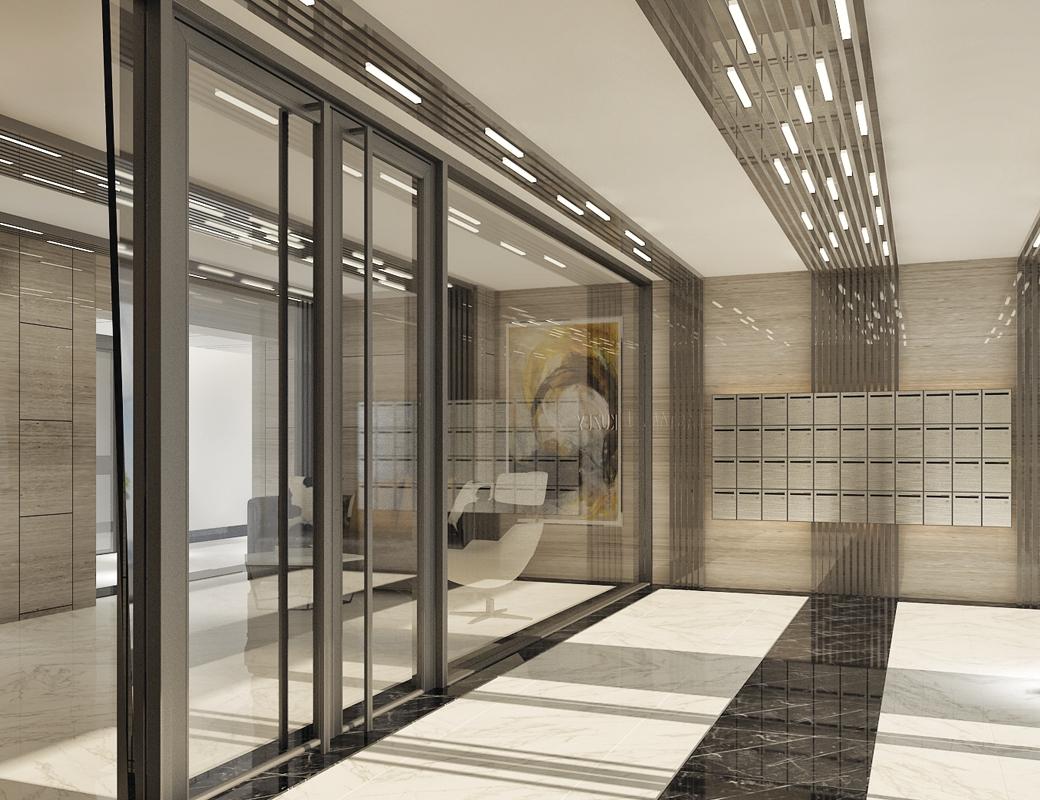 Bina Giriş ve Kat Koridorları